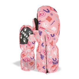 Level Moffola Baby Kiddy Mitt Rosa Logos