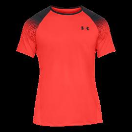 Under Armour T-Shirt Logo Nero/Rosso