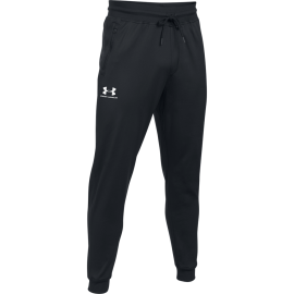 Under Armour Pantalone Jogger Nero/Bianco