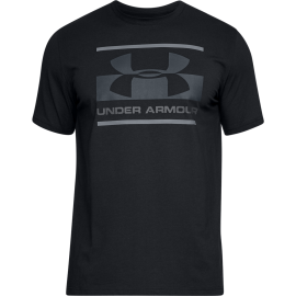 Under Armour T-Shirt Logo Nero/Grigio