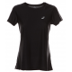 Asics T-Shirt Donna Mm Run Balance Black