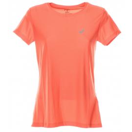 Asics T-Shirt Donna Mm Run Balance Coraliciuous