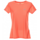 Asics T-Shirt Donna Mm Run Balance Coraliciuous