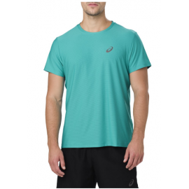 Asics T-Shirt Mm Rn Lake Blu