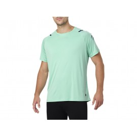 Asics T-Shirt Mm Run Icon Opal Green