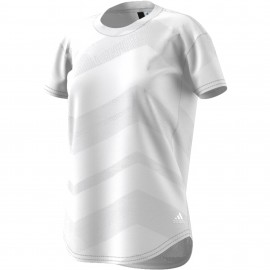 Adidas Originals T-Shirt Donna Sleeve Rsm  Bianco