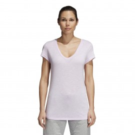 Adidas Originals T-Shirt Donna Sleeve Rsm Rosa