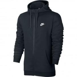 Nike Felpa Cap/Zip Club Black