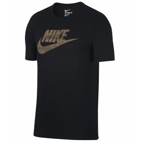 Nike T-Shirt Logo Futura  Black