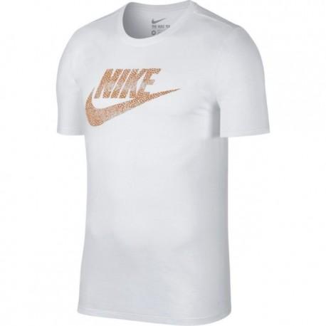 Nike T-Shirt Logo Futura  White