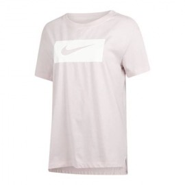 Nike T-Shirt Donna Essential Logo Barely Rose