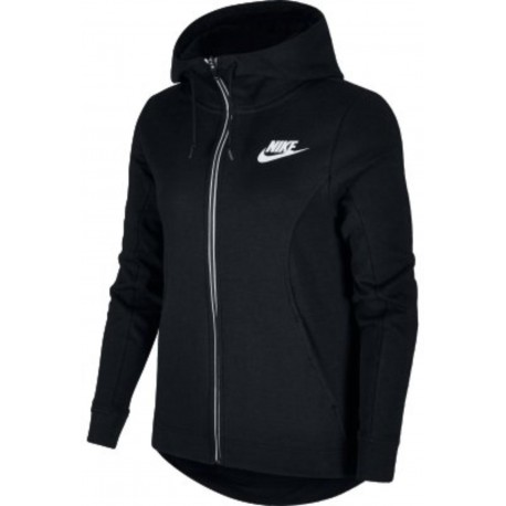 Nike Felpa Donna Cap Black