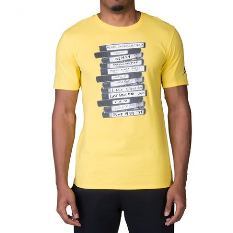 Nike T-Shirt Mm Legend Jo Yellow