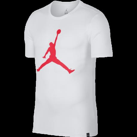 Nike T-Shirt Mm Iconic Jo  White