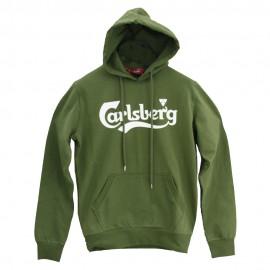 Carlsberg Felpa C/Capp  Verde