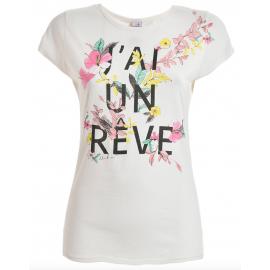 Deha T-Shirt Donna Fantasia Bianco