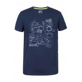 Icepeak T-Shirt Silas Navy