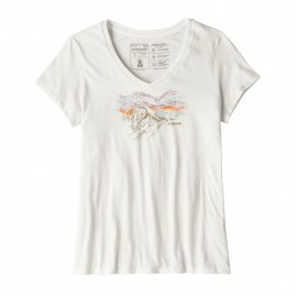 Patagonia T-Shirt Donna Quandary White