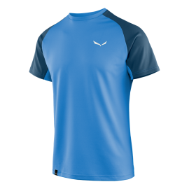 Salewa T-Shirt Sporty Royal Blue