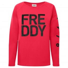 Freddy Felpa W Big Logo  Fuxia