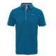 The North Face Polo Premium Piquet  Blue Coral