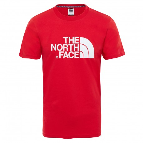 The North Face T-Shirt Easy Tee Tnf Red