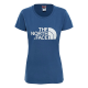 The North Face T-Shirt Donna Easy Tee  Blue Wing Teal