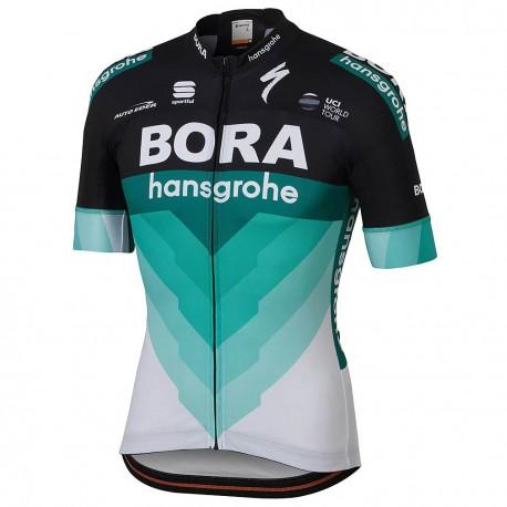 Sportful Maglia Bora Bodyfit Team Black/Green