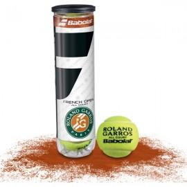 Babolat Tubo Palline Roland Garros X4