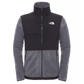 The North Face Pile Denali Ii 300 Polar Charcoal Grey