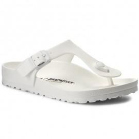 Birkenstock Sandalo Gomma Gizeh  Bianco