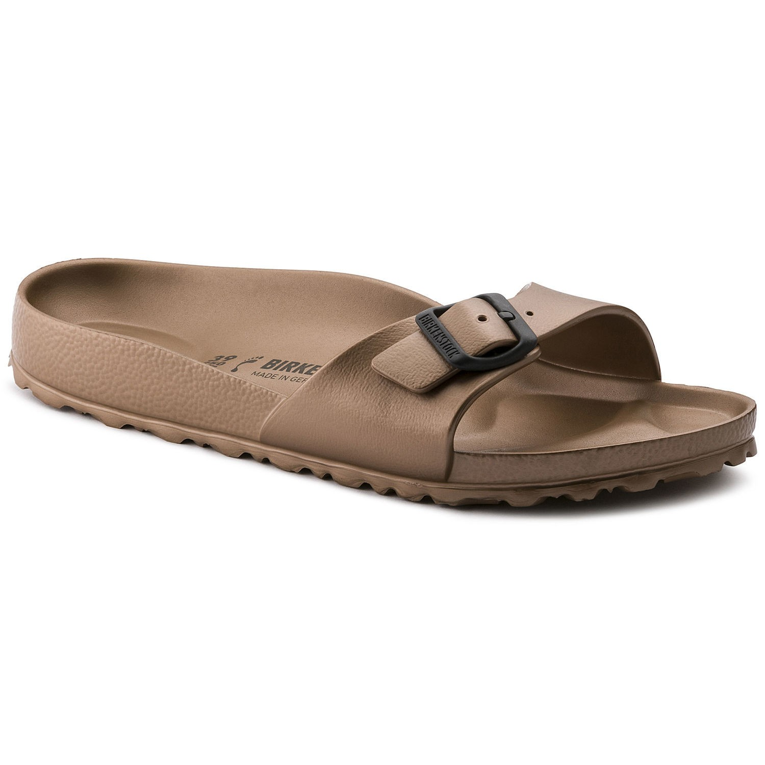 fd83a0657c013 Style Birkenstock Sandalo Donna Gomma Madrid Rame 1001504