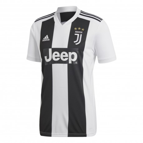 Adidas T-Shirt Mm Juve Home Nero/Bianco