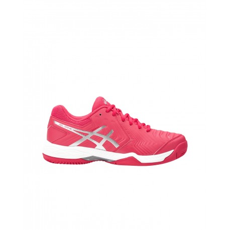 Tennis Asics Donna Gel-Game 6 Clay Rouge Red/Silver E756Y-1993 - Ac..