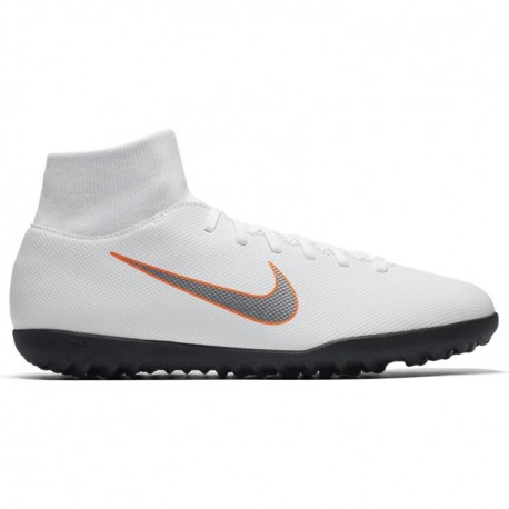 Nike Superflyx 6 Club Tf White/Grey