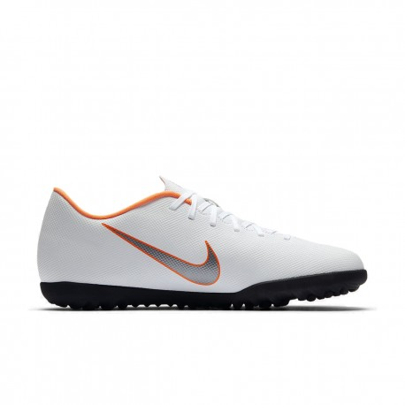 Nike Vaporx 12 Club Tf White/Grey