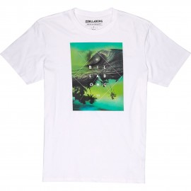 Billabong T-Shirt Stampa Bianco