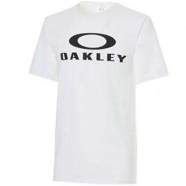 Oakley T-Shirt Logo Scritta  Bianco