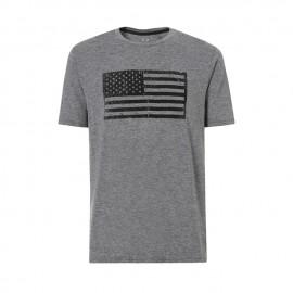 Oakley T-Shirt Bandiera  Grigio