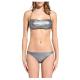 Sundek Bikini Donna Fascia Lurex  Argento