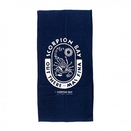Scorpion Bay Telo Big Logo  Blu