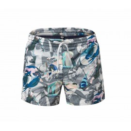 Arena Short Newsflash Grey/Multi