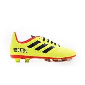 Adidas Predator 18.4 Fxg Giallo/Rosso Bambino