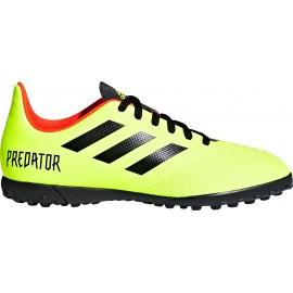 Adidas Predator Tango 18.4 Tf Giallo/Rosso Bambino