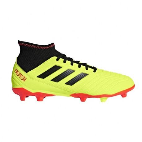 Adidas  Predator 18.3 Fg Giallo/Rosso