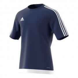 Adidas T-Shirt Bambino Mm Estro 15 Team Blu/Bianco