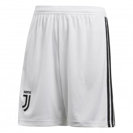 Adidas Short Bambino Juve Home Bianco