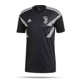 ADIDAS t-shirt mm juve pre bianco/nero uomo