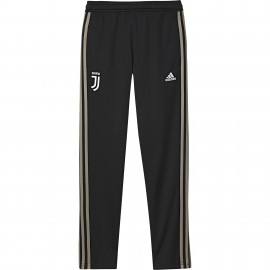 Adidas Pantalone Juve Poly Nero/Beige
