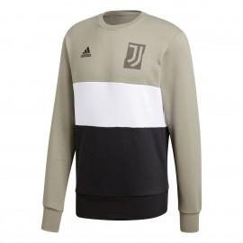 Adidas Felpa Juve Graphic Beige/Nero